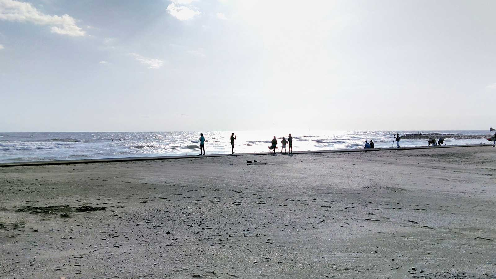 千葉県九十九里浜 海岸散歩